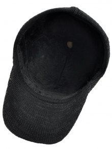 90dc911d6cb 30% OFF  2019 Simple Crochet Knitted Pom Pom Snapback Hat In BLACK ...