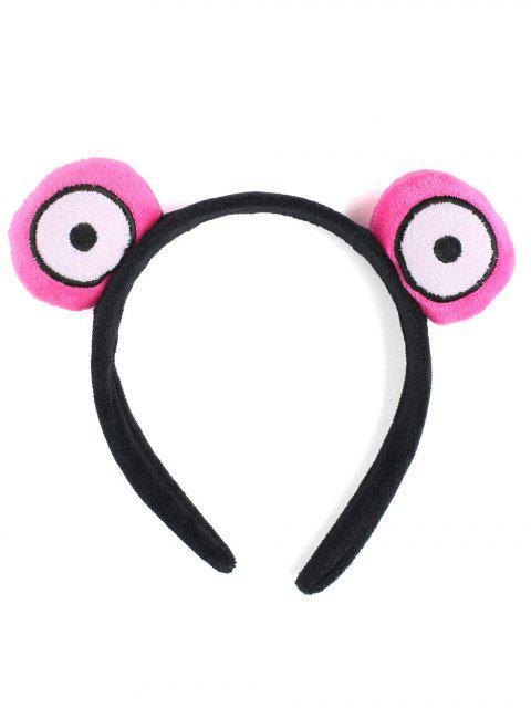Borroso lindo ojos redondos hairband - Rosa  Mobile