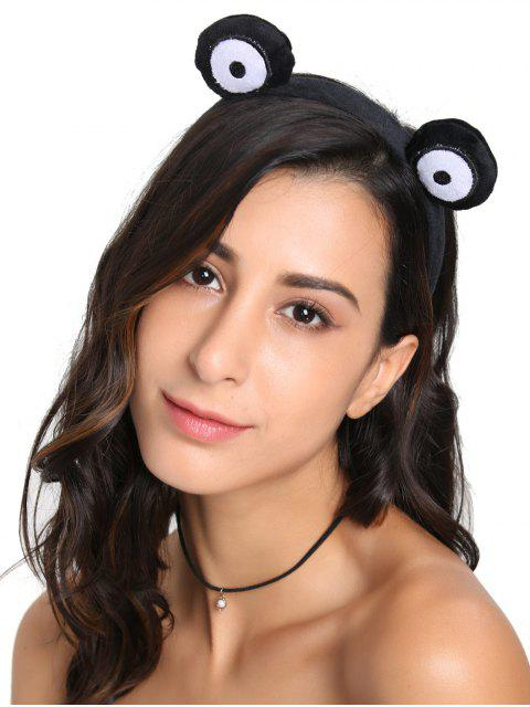 trendy Fuzzy Cute Round Eyes Hairband -   Mobile