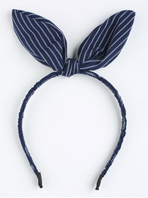 Serre-Tête Motif Adorables Oreilles de Lapin Rayées - Royal  Mobile