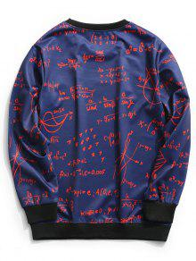 Xl Hombre Sweatshirt Profundo Crew De Funci Graphic Neck Azul 243;n Ropa gCw60vWqfx