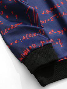 Hombre Profundo Xl Neck De Ropa Azul Funci Sweatshirt 243;n Graphic Crew APv0Pz