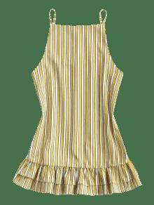 Mini Stripes M Dress Shift Ruffle Raya qEwdz7wxR