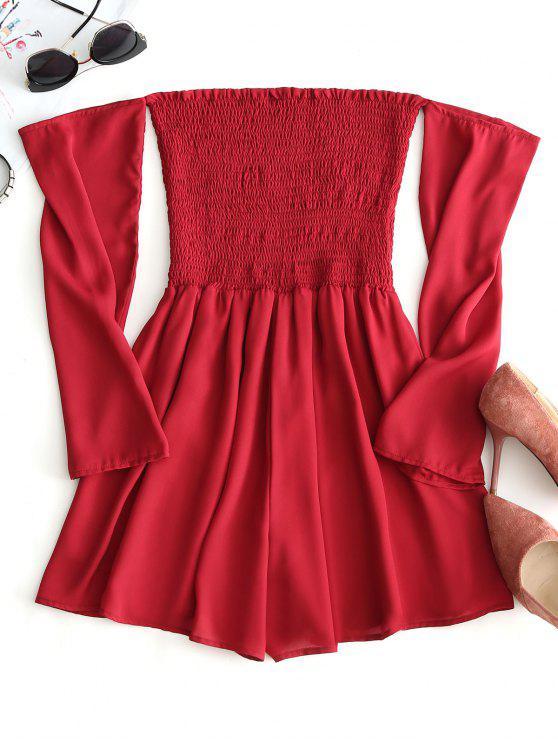 Pagliaccetto a spalla con patta - Rosso L