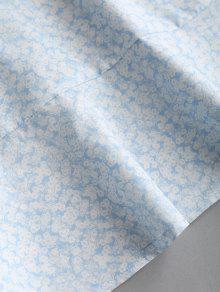 Volantes Colgando Cuello Encaje De Crochet Floral S Vestido wUqpg78nX