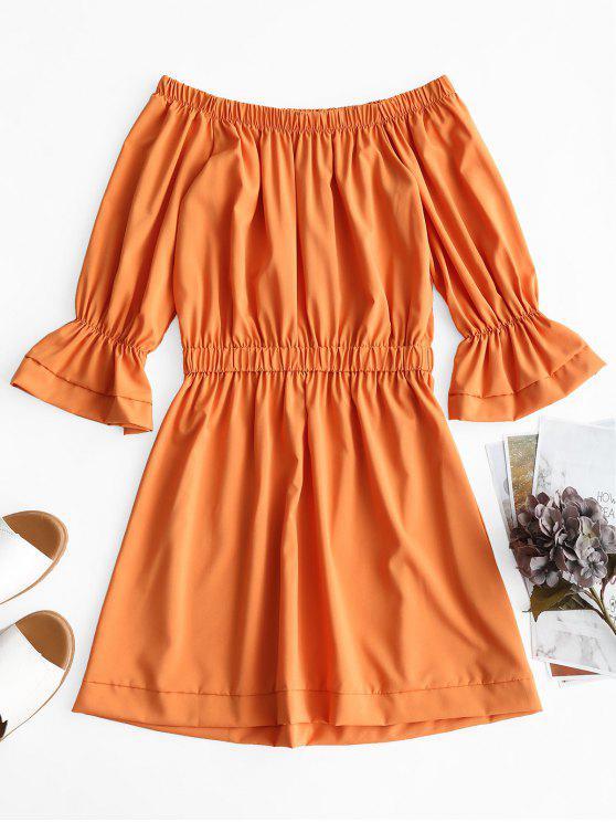 Orange Mini Dresses
