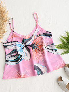 Floral Print Cami Top - Pink Xl