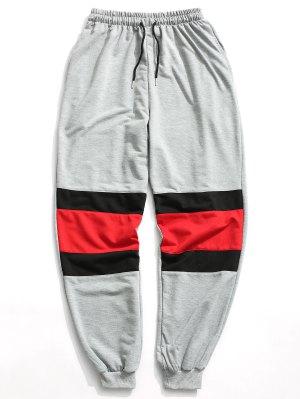 Pantalon Jogger Contrastant