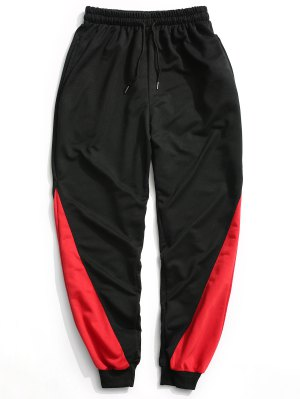 Pantalones de jogging de dos tonos