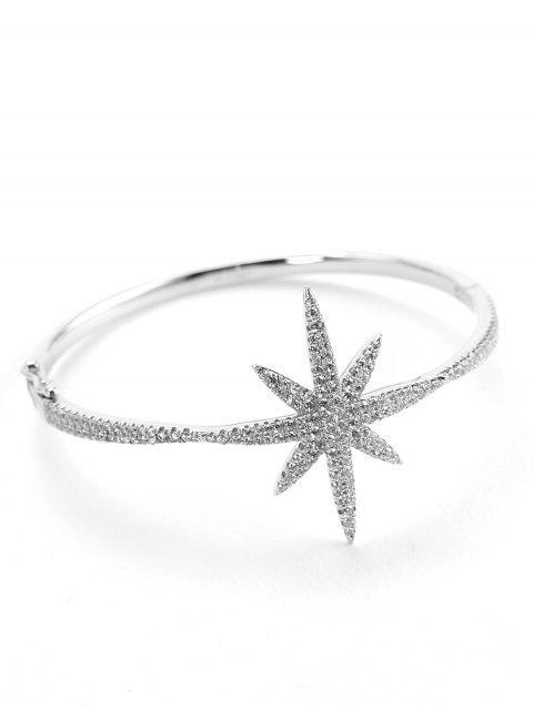 Valentinstag Seestern Design Metall Armband - Silber  Mobile