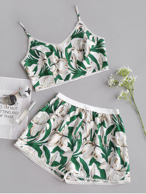 Conjunto corto y pantalón corto Flower Cami - Floral M Mobile