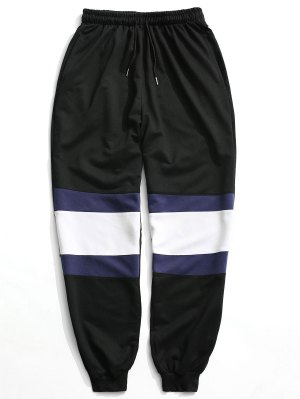 Color Block Jogger Pants