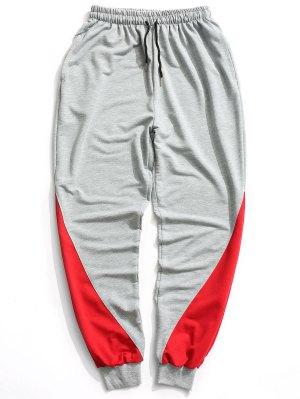Pantalon de Jogger à Deux Tons