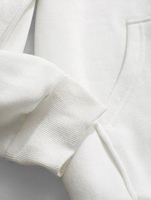 Senduojie Capucha Blanco Fleece Graphic 2xl Con Sudadera wtHqZ4Fxx