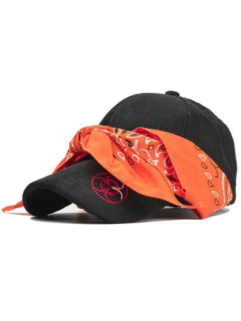 online Vintage Ribbon Corduroy Baseball Cap - JACINTH  Mobile