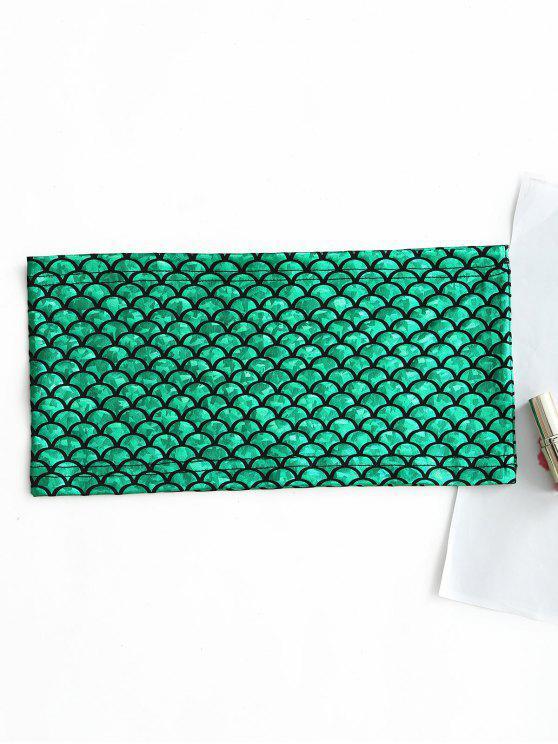 صدرية بنمط حورية البحر - أخضر S