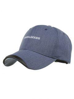 BIENES ORIGINALES Sombrero De Béisbol Bordado - Azul Marino