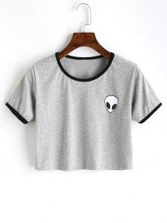 T-shirt à Imprimé Saucerman - Gris M
