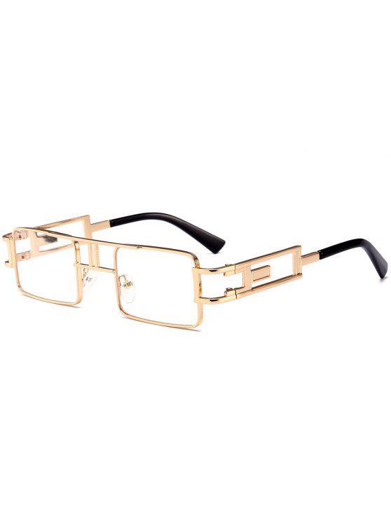 الجوف خارج إطار كارفر النظارات مربع - شفاف