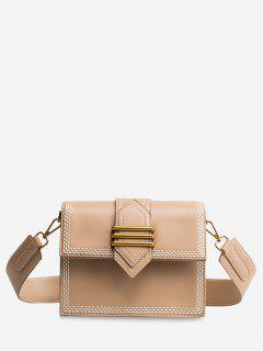 Minimalist Casual Shopping Crossbody Bag - Khaki