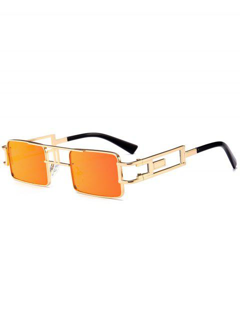 women Hollow Out Carver Frame Square Sunglasses - JACINTH  Mobile