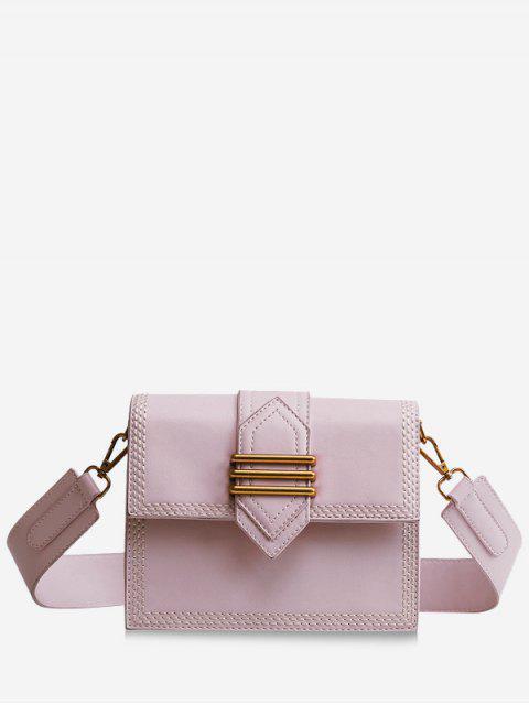 Minimalista de compras casuales Crossbody Bag - Rosa  Mobile