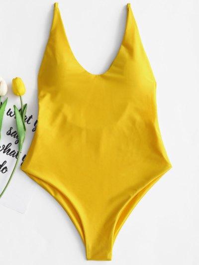 2019 yellow one piece swimsuit Fashion Shop Trendy Style Online  2048b254b761