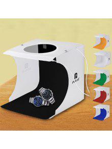 الصمام للطي المحمولة البسيطة صور ضوء مربع ستوديو - أبيض 20 * 20 * 20cm