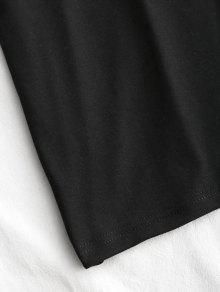 Espalda S Mini Club Vestido Abierta Negro Con 57qZ8
