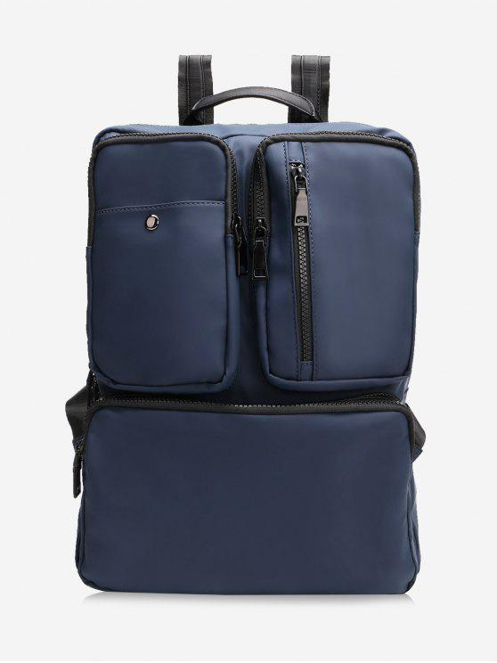 trendy Multipurpose Laptop Waterproof Backpack - ROYAL