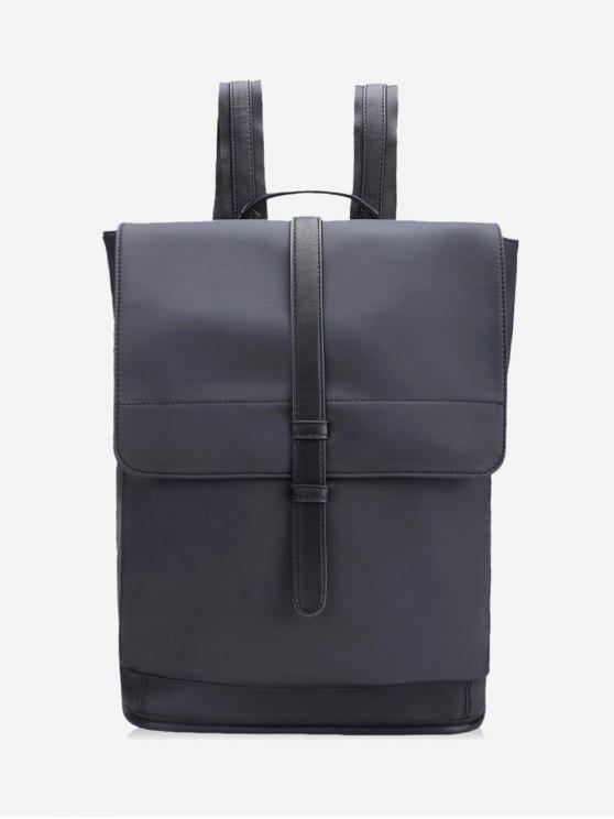 حقيبة كمبيوتر محمول رفرف متعددة الأغراض - أسود