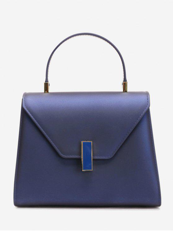 affordable Flap Minimalist Handbag with Strap - ROYAL