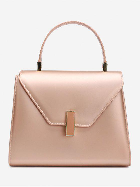 buy Flap Minimalist Handbag with Strap - ROSE GOLD