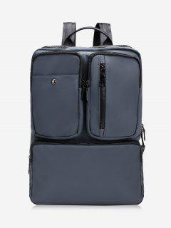 Multipurpose Laptop Waterproof Backpack - Deep Gray