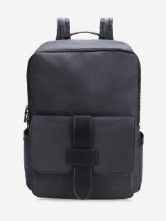 Multipurpose Laptop Backpack - Black