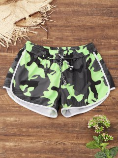Camo Beach Shorts - Acu Camouflage M
