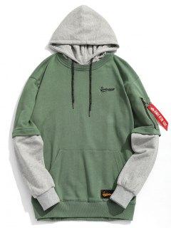 Pouch Pocket Pullover Hoodie Ropa De Hombre - M