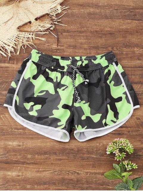 hot Camo Beach Shorts - ACU CAMOUFLAGE M Mobile
