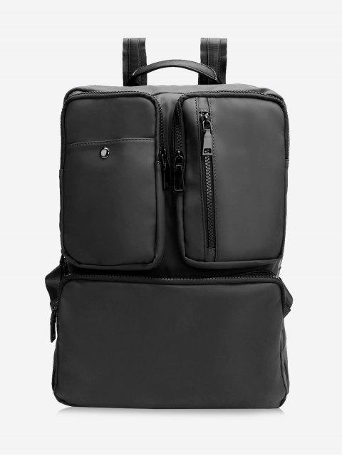 latest Multipurpose Laptop Waterproof Backpack - BLACK  Mobile