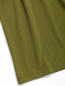 Sin Corta Mangas Camiseta Verde Manga Ejercito De 3xl d5TIxIwqn