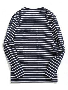 A De Mezcla Camiseta 2xl Algod Rayas Con Raya 243;n dwqxfxA