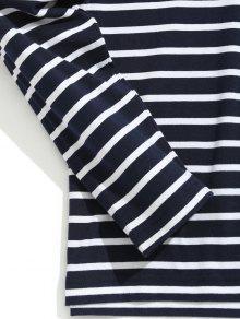 De Camiseta Rayas A 2xl 243;n Mezcla Algod Con Raya xIIZwqrHC