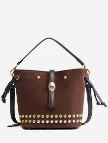 حقيبة يد رصع متعددة الأغراض - كابتشينو