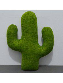 الصبار شكل أريكة الديكور رمي سادة - العشب الأخضر 35cm × 25cm × 6cm و