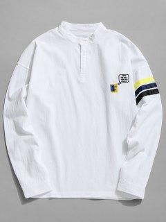 Chemise à Rayures En Coton - Blanc Xl