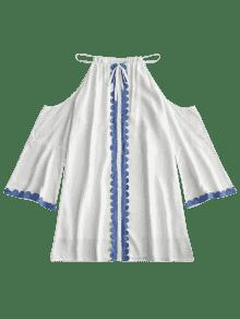 Vestido Fr De Trapecio Hombro Hombro Trapecio De Vestido P0pEnqRprx