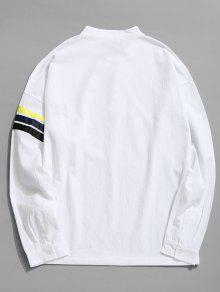 Algod De Camisa 4xl 243;n De Rayas Blanco HxtW0WPqpw