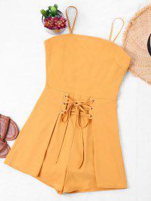 رومبير حزام السباغيتي ربطة فراشية - الأصفر S