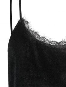 Encaje Negro Talla De 3xl De Ajuste Velis Grande Camis qOp5UxwPn