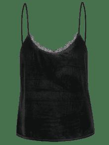Talla Grande Velis De Encaje 3xl Ajuste Camis De Negro BntxaCq
